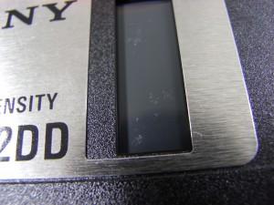 フロッピーディスクのカビ洗浄