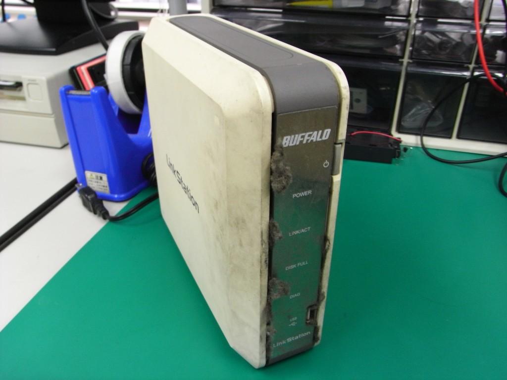 Linkstation Hd Hg250lan ハードディスクが焦げた 東京 秋葉原のデータ復旧専門店 データsos