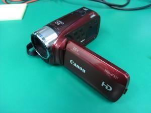 Canon iVIS HF R21 ウィルスに感染して動画が見られない