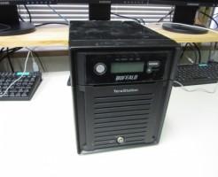 TS-XH4.0TL/R6稼働中にハードディスクを引き抜いてRAID崩壊