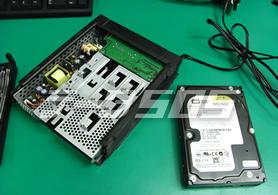 NASのハードディスクをWindowsにつけると おかしくなることも