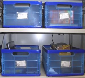 案件別ボックスの使用