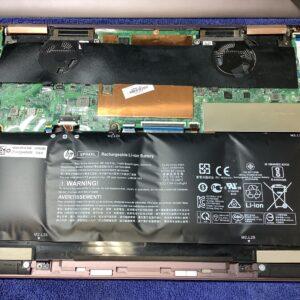 HP Spectre x360 Convertible 13-ap0036TU バッテリーが膨張し、OSも起動しなくなった