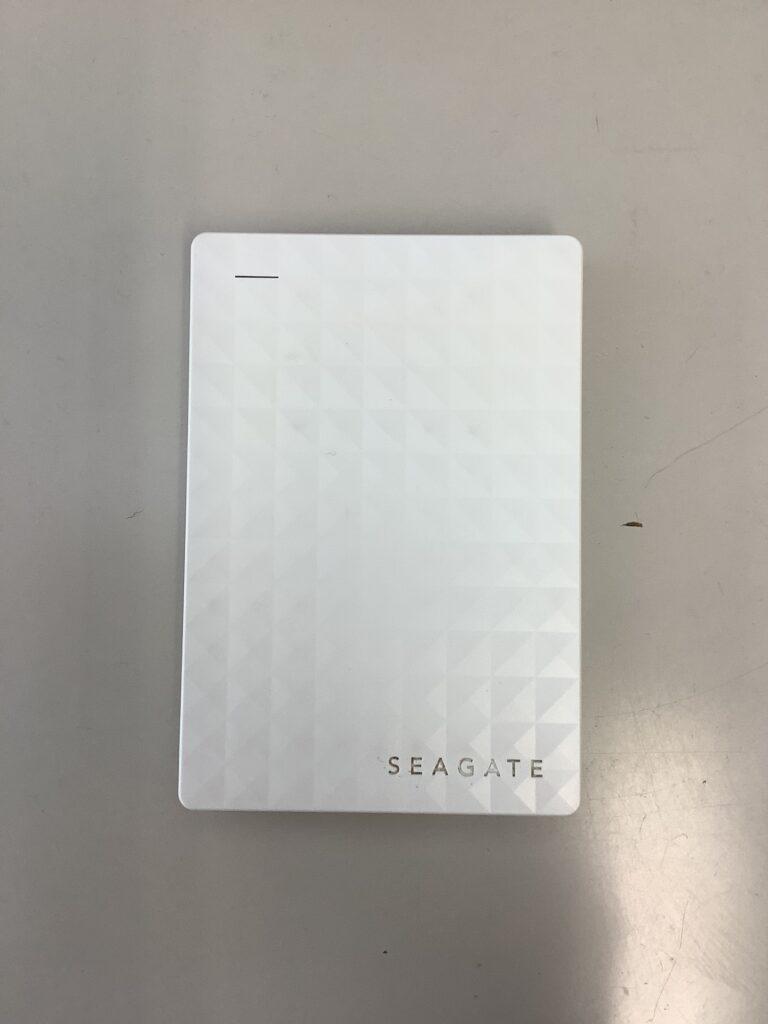 Seagate Expansion Portable Drive SRD0NF1 SPP-NZ010UWH 1TEAPT-500 アクセスできませんとエラーが出る