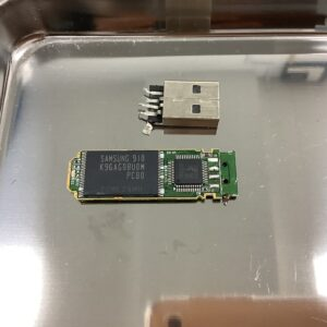 SONY Pocket Bit USM4GL Macに接続したまま落下させてしまいその後認識されない