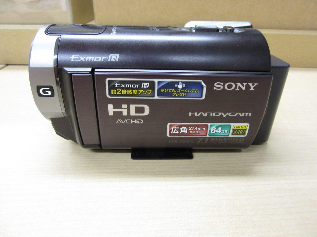 Sony ハンディカム HDR-CX370V 撮影した動画を取り込もうとしたらエラー