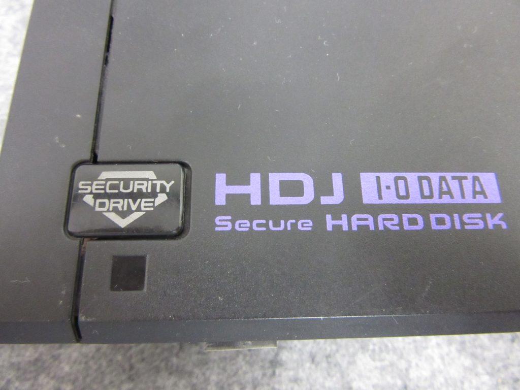 IO DATA HDJ-HSU1.0 自動暗号化機能付き 1TB外付けHDD USBに接続しても認識しない