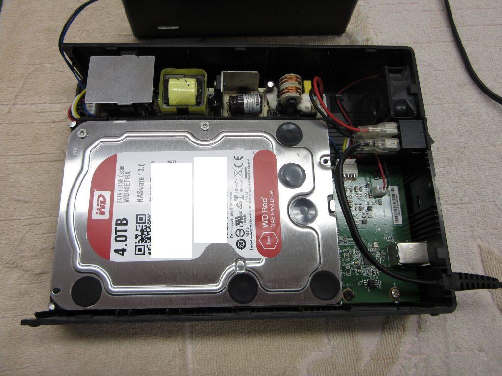 IO DATA HDJA-UT4.0W WD RED搭載外付けHDD 使用中に認識不良となり、別のPCではフォーマットされていませんと出る
