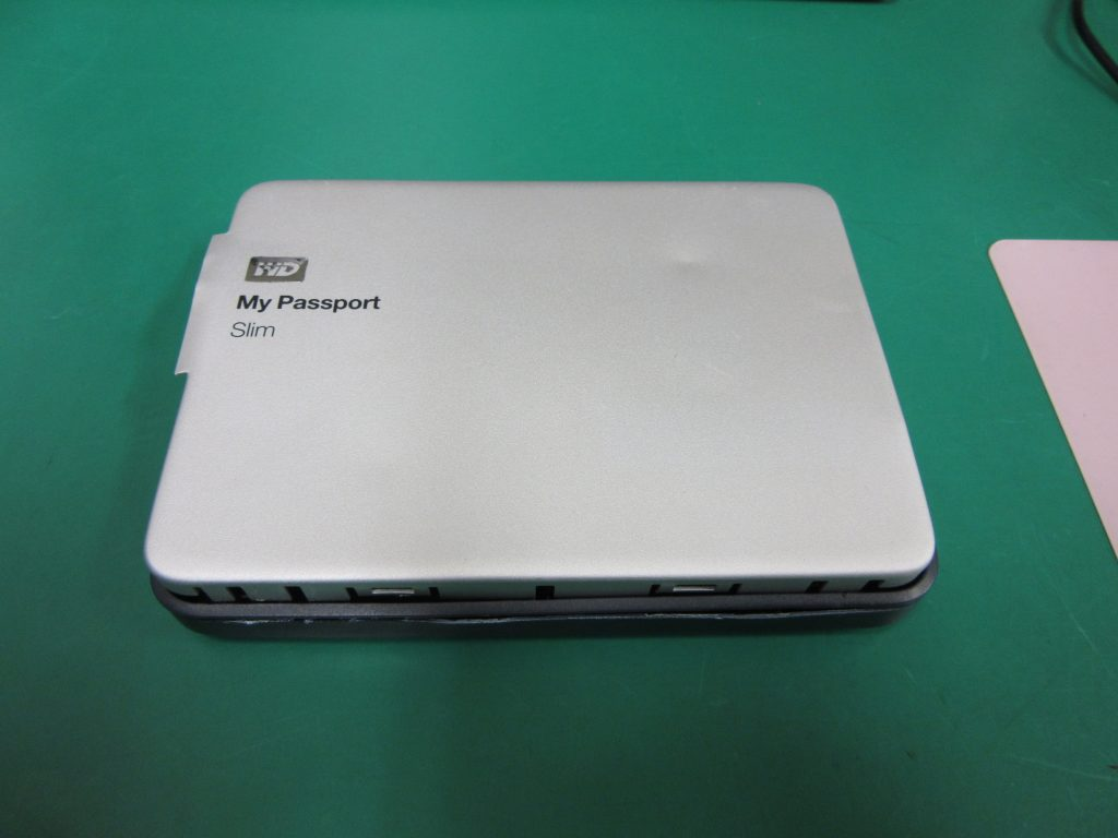 Western Digital My Passport Slim WDBGMT0010BAL 認識しなくなった