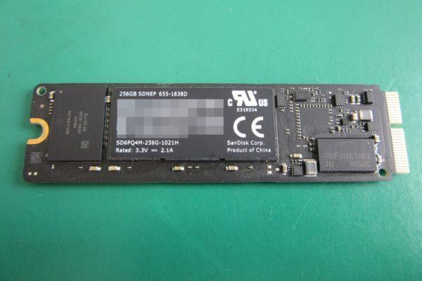 MacBook Pro (Retina, 13-inch, Late 2013)256GB SSD 電源を入れても読み込めない