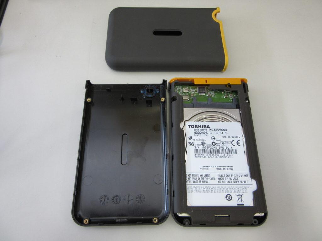 Trancend Store Jet 320GB USBポータブルHDD 通電するが読み込みできない