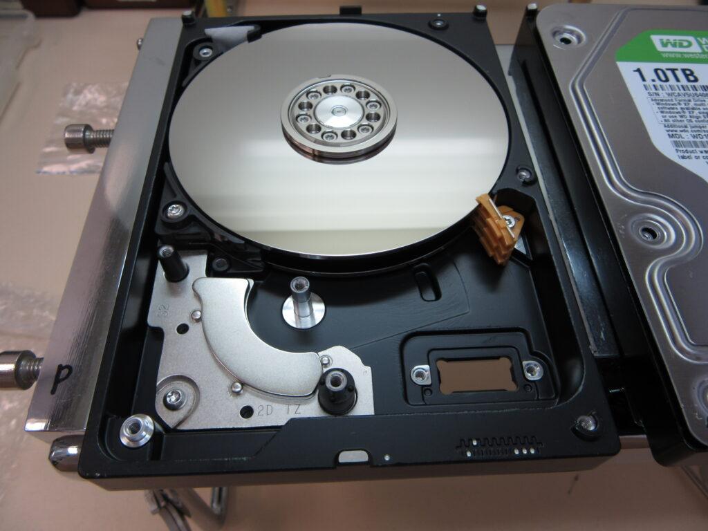 BUFFALO HD-LB1.0TU2 「フォーマットされていません」と表示される
