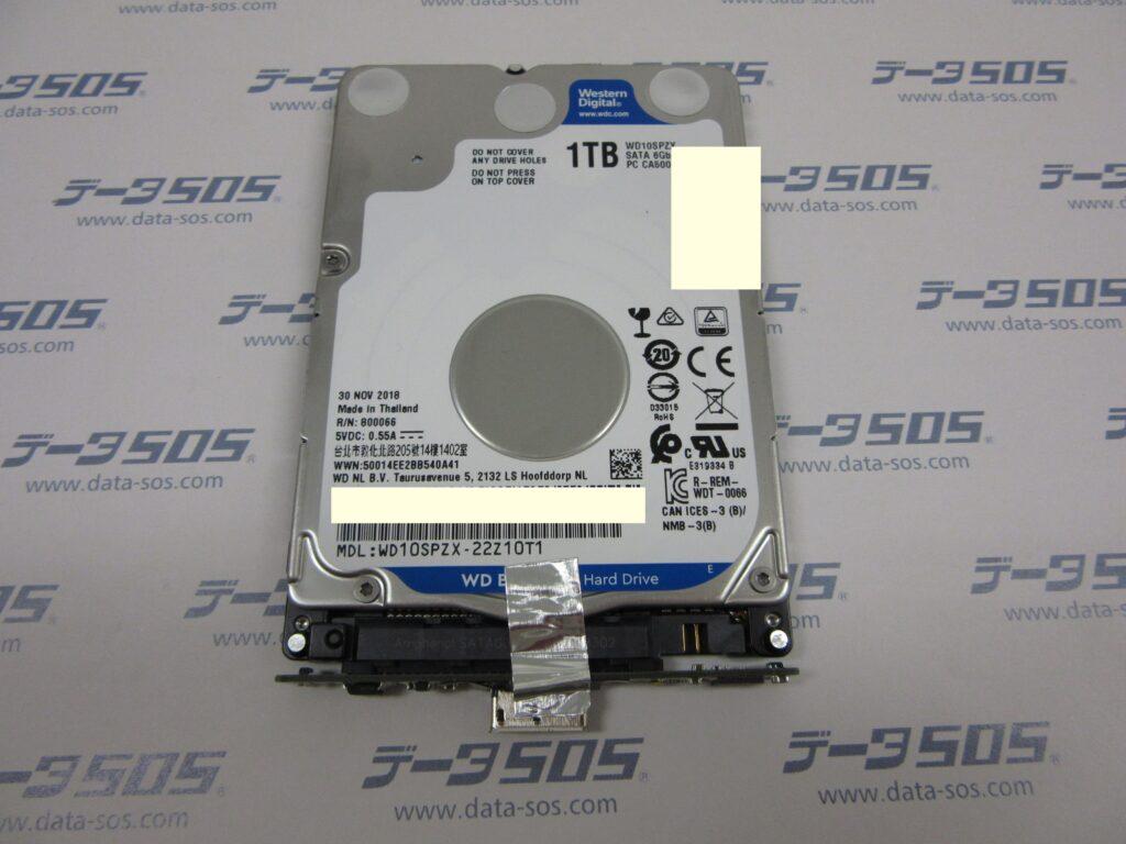BUFFALO MiniStation HD-PCFS1.0U3-BBA 落下後認識できなくなった