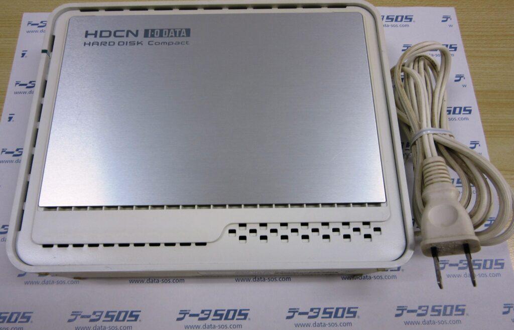 IO DATA HDCN-U500のデータ復旧 認識するもののエラーが出て大事なファイルが取り出せない