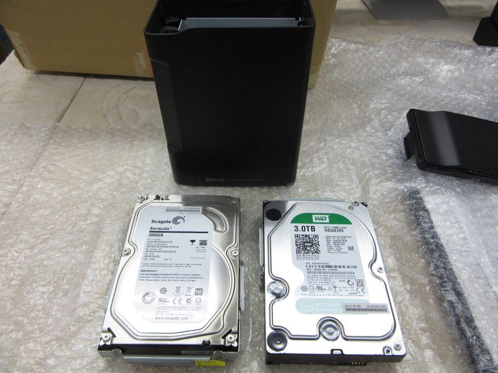 IO-DATA HDL2-A6.0 RAID1で運用 HDD1台が壊れて交換後うまく同期されていなかった